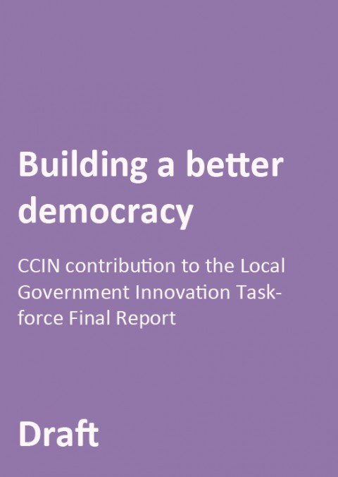 Contribution to Local Government Innovation Taskforce Final Report