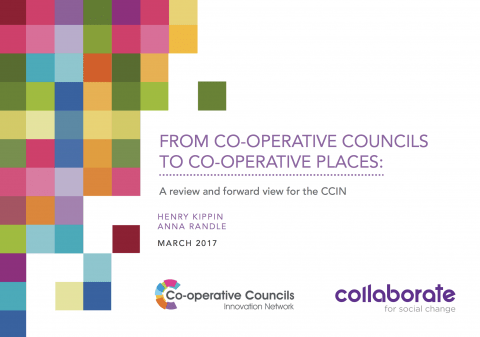 From Co-operative Councils to Co-operative Places report