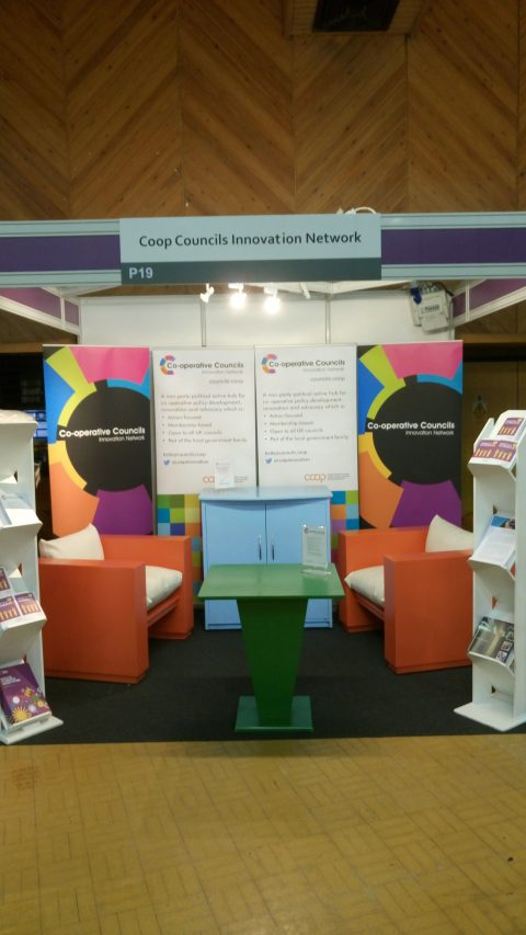 CCIN stand at LGA 2016
