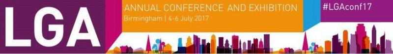 LGA Conference Banner Birmingham 4 - 6 July 2017
