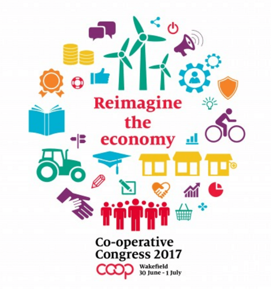 Co-operative Congress 2017 logo