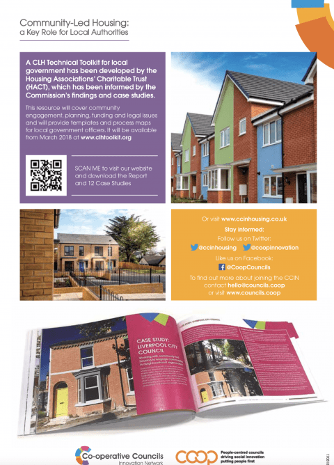 Community-Led Housing Flyer reverse