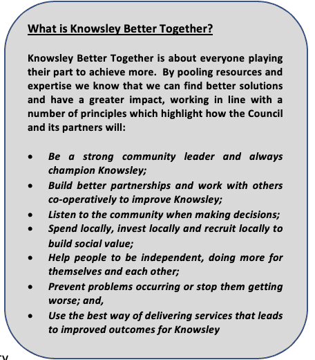What is Knowsley 2030