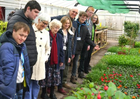 Norwich Students Show Community Volunteers