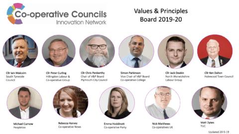 Values and Principles Board May 2019