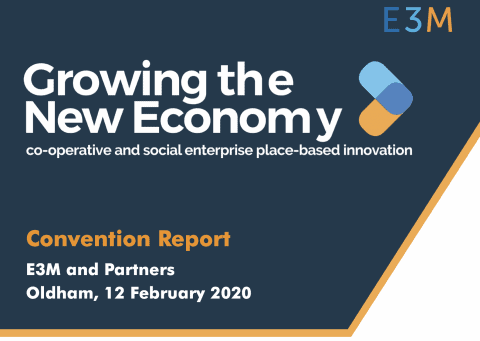 Growing the New Economy Convention Report - E3M