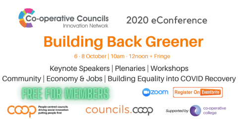 Building Back Greener - CCIN eConference 2020