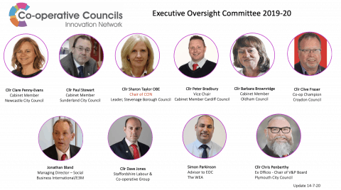 Executive Oversight Committee as at 14 July 2020