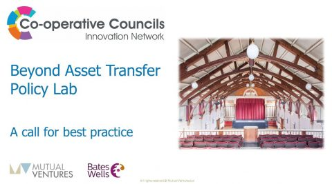 Beyond Asset Transfer Policy Lab – online workshop