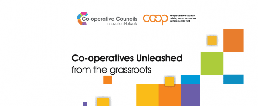 Co-operatives Unleashed from the grassroots