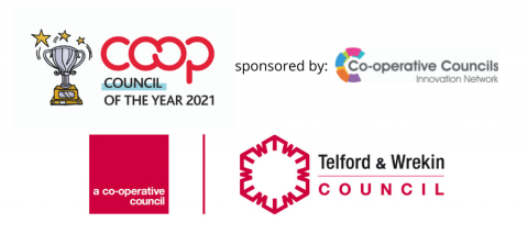 Winner of the Coop Council of the Year Award 2021 is Telford & Wrekin Council
